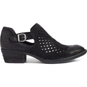 Born Nanna Perforated Bootie Black Size 8.5
